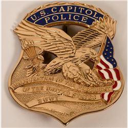 U.S. Capitol Police Inaugural badge  (121916)