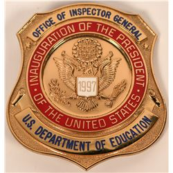U.S. Dept of Education , OIG badge  (121852)
