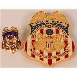 U.S. Dept of State. Special Agent badge  (121858)