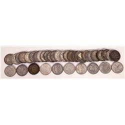 Morgan Dollars from Philadelphia (38 coins)  (124150)