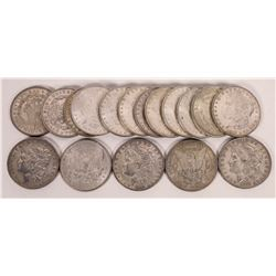 Better Condition Morgan Silver Dollars (Lot of 17)  (124148)