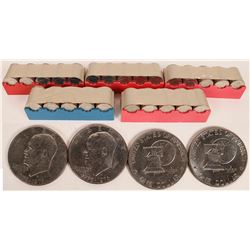 Eisenhower Dollars - 500 QTY  (124155)