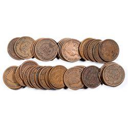 Indian Head Pennies (39)  (124051)