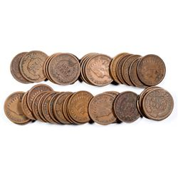 Indian Head Pennies (39)  (124051)