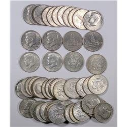 Kennedy Half Dollars: 40% silver and Bicentennial  (124144)