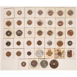 Miscellaneous Coin and Token Collection (39)  (122615)