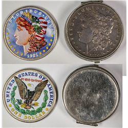 Morgan Dollar Collectibles (2)  (124036)