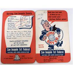 Savin' Sailor Mercury Dime Savings Book  (124073)
