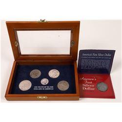 Silver Dollars in America  (124142)