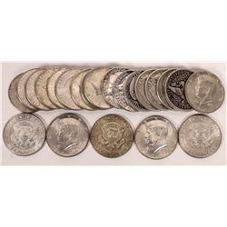 Silver Half Dollar Collection  (124145)