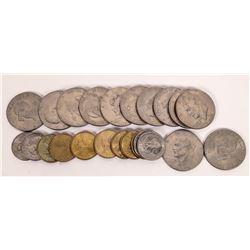 Susan B. Anthony/Sacagawea/Eisenhower Bicentennial Dollars  (124152)