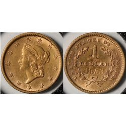 U.S. $1 Gold Piece  (124175)