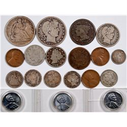 U.S. Coin Type Collection (20 coins)  (124053)