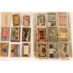 German Notgeld Collection (87)  (122992)