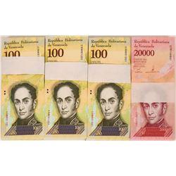 Venezuela Banknotes Uncirculated (4)  (119710)