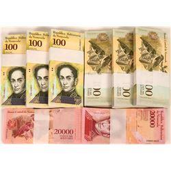 Venezuela Banknotes Uncirculated (8)  (119711)