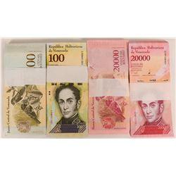 Venezuela Crisp Uncirculated Currency  (125252)