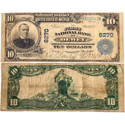 National Bank Note: First National Bank of Dewey Oklahoma  (124129)