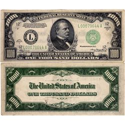 $1000 Federal Reserve Note  (124131)