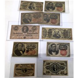 Fractional Currency Collection  (124055)