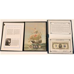 America's Last Silver Money /Columbus' Voyage To America  (124003)