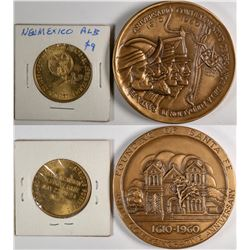 New Mexico 350th Anniversary Medal  (124025)