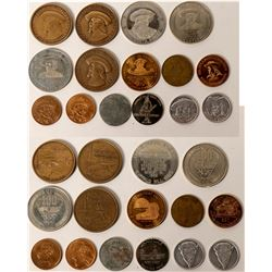 Buffalo Bill /Custer Medals &Tokens (15)  (123078)