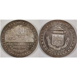 Century of Progress Silver Medal HK 870  (124224)