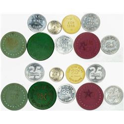 German Military Token Collection (9)  (124370)