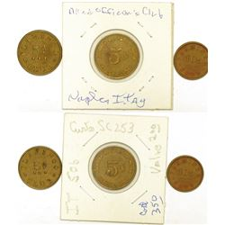 Italy Military Tokens  (124378)