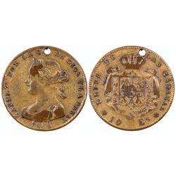 Iasabel II token  (121966)