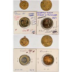 Misc. British tokens  (122092)