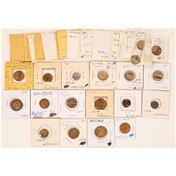 Victoria Regina Counters/tokens  (121973)