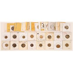 Victoria Regina KYT and Spiel Markes tokens  (121974)