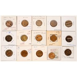 Whist Victoria Counters (15)  (122066)