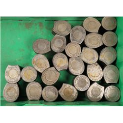 Numismatic Related & Cased Cent Dies  (125129)