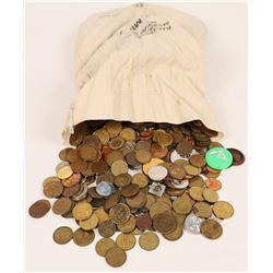 U. S. Mint Bag Full of U. S. Tokens, 20-plus pounds  (125577)