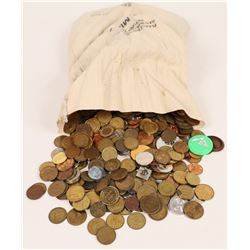 U. S. Mint Bag Full of U. S. Tokens, 20-plus pounds  (125577)
