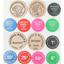 Avenal California Token Collection  (122646)