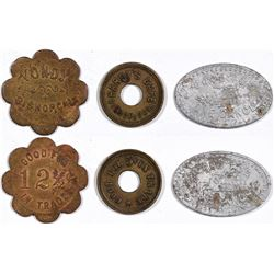 Bishop California Token Trio  (124201)