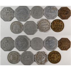 "Fresno California ""Bakery"" Token Group  (120283)"