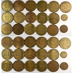 "Fresno California  ""Banks"" Token Group  (120305)"