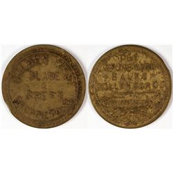 "Fresno California ""BBC"" Token  (120293)"