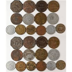 "Fresno California  ""Pool Hall"" Token Collection  (120284)"