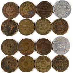 Fresno California  Ambrose Bros. Token Group  (120295)
