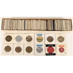 Tokens Fresno County Schools Lunch/Cafeteria Collection (120 tokens)  (120267)