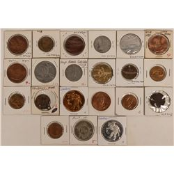 Cowboy Themed Tokens & Medals (21)  (123077)