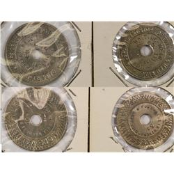 Imperial Valley California Whiting Mead Company Tokens (2)  (124232)