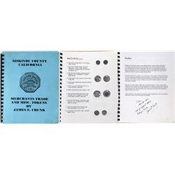 Siskiyou County California  Trade Token Catalog  (124277)
