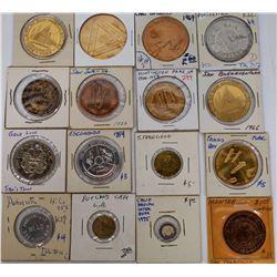California Token Collection (16)  (124058)